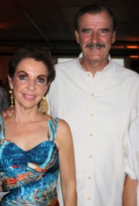 Vicente Fox Quesada and Marta Sahagun de Fox