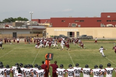 Junior Varsity (JV) game at Marshall High